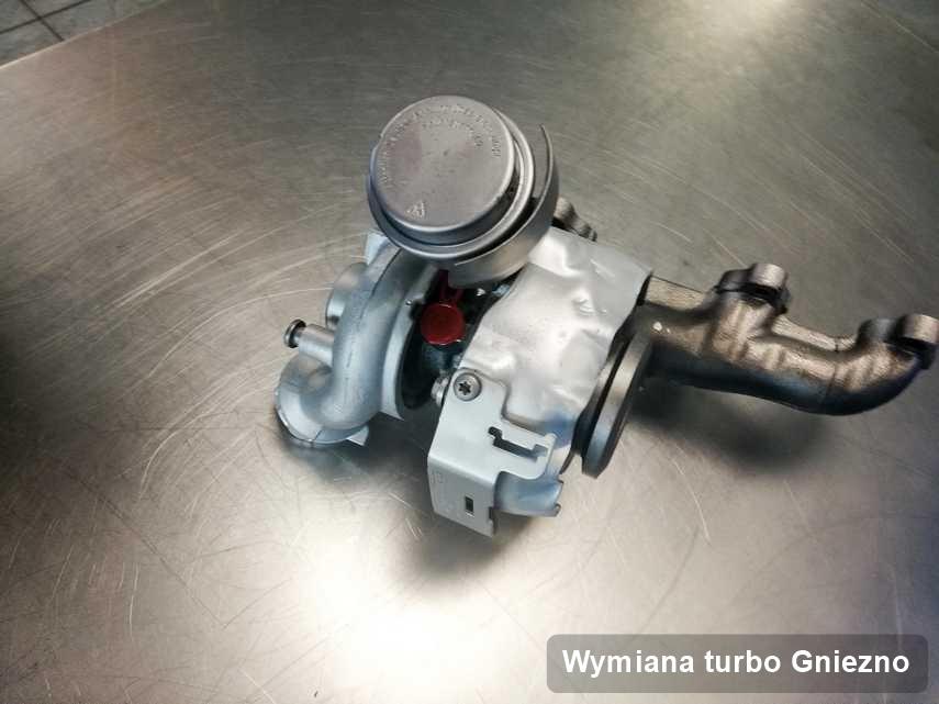 Turbo po zrealizowaniu serwisu Wymiana turbo w firmie z Gniezna o parametrach jak nowa przed spakowaniem