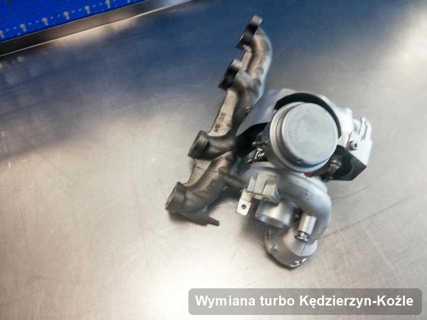 Turbina po przeprowadzeniu zlecenia Wymiana turbo w przedsiębiorstwie w Kędzierzynie-Koźlu w niskiej cenie przed wysyłką