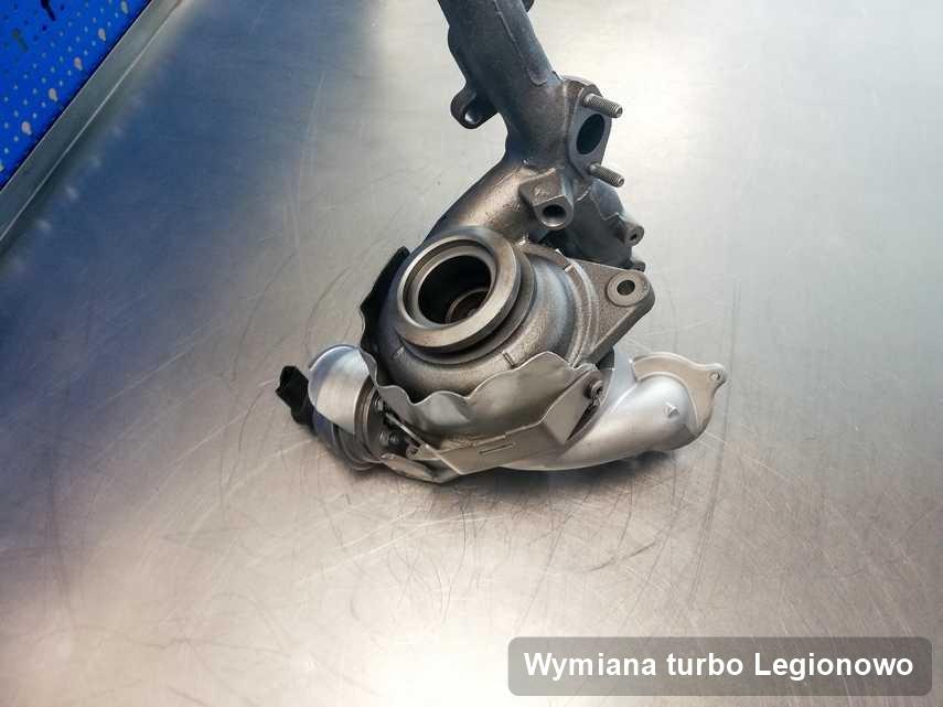 Turbina po przeprowadzeniu zlecenia Wymiana turbo w firmie w Legionowie o osiągach jak nowa przed spakowaniem