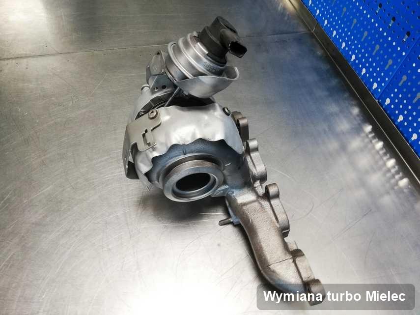 Turbo po wykonaniu usługi Wymiana turbo w przedsiębiorstwie z Mielca w doskonałej kondycji przed wysyłką