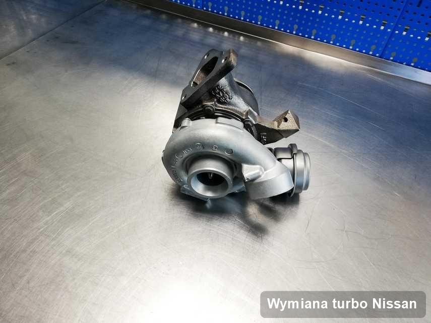 Turbosprężarka do pojazdu spod znaku Nissan wyremontowana w firmie gdzie realizuje się usługę Wymiana turbo