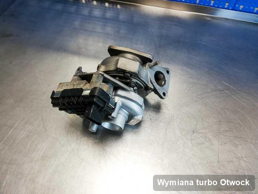 Turbosprężarka po realizacji zlecenia Wymiana turbo w serwisie z Otwocka w doskonałym stanie przed wysyłką