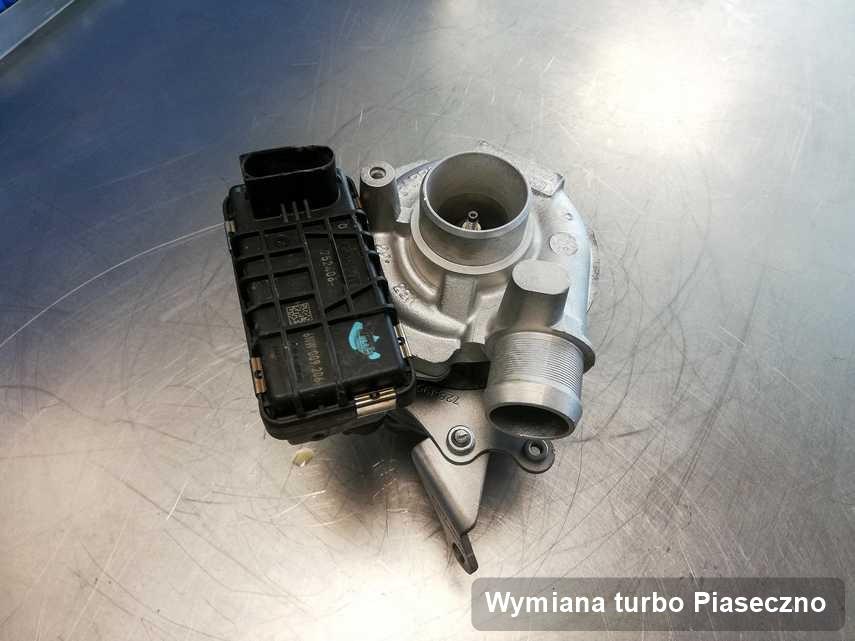 Turbosprężarka po realizacji usługi Wymiana turbo w przedsiębiorstwie z Piaseczna w doskonałej kondycji przed wysyłką
