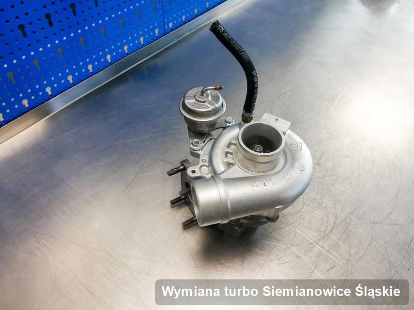 Turbina po zrealizowaniu serwisu Wymiana turbo w serwisie z Siemianowic Śląskich w świetnej kondycji przed spakowaniem