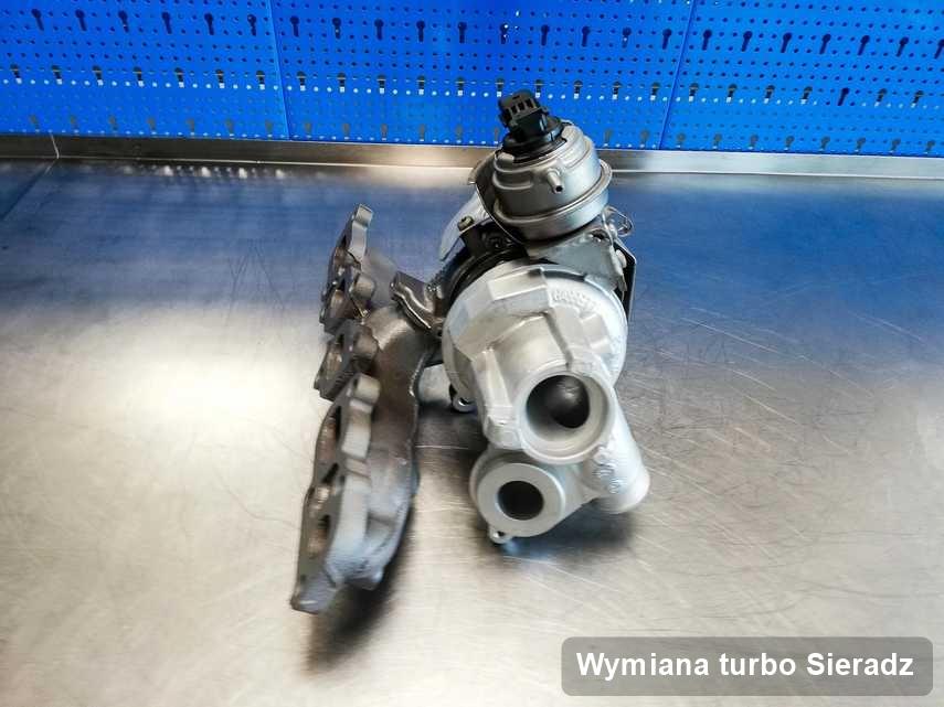 Turbosprężarka po realizacji serwisu Wymiana turbo w przedsiębiorstwie w Sieradzu w doskonałym stanie przed wysyłką