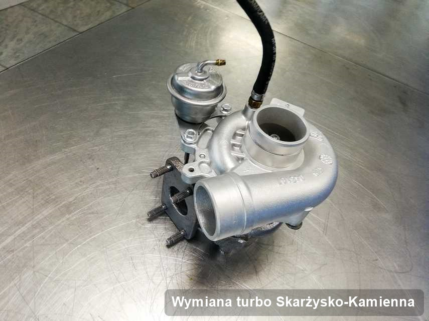 Turbo po przeprowadzeniu serwisu Wymiana turbo w warsztacie z Skarżyska-Kamiennej w doskonałym stanie przed spakowaniem