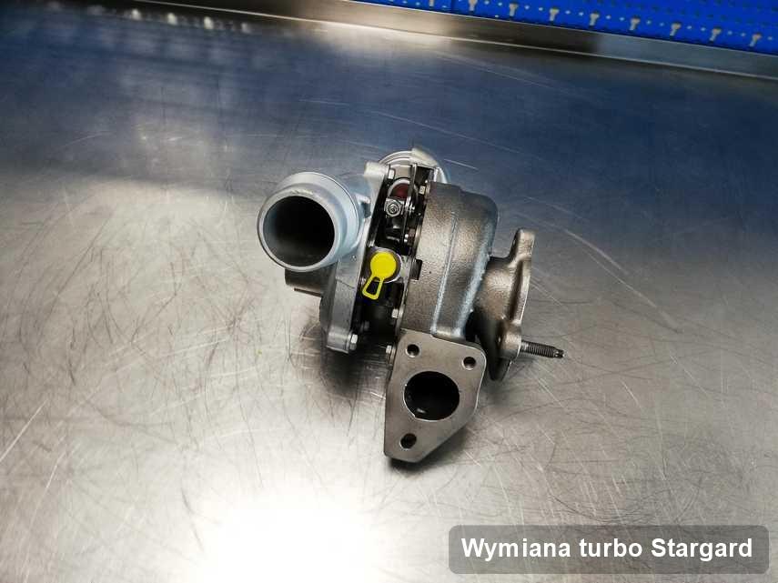 Turbina po wykonaniu zlecenia Wymiana turbo w przedsiębiorstwie z Stargardu w doskonałym stanie przed wysyłką