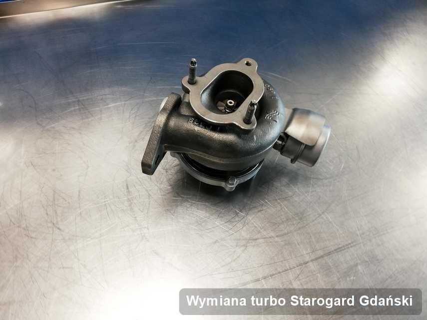 Turbo po wykonaniu usługi Wymiana turbo w warsztacie w Starogardzie Gdańskim w świetnej kondycji przed spakowaniem