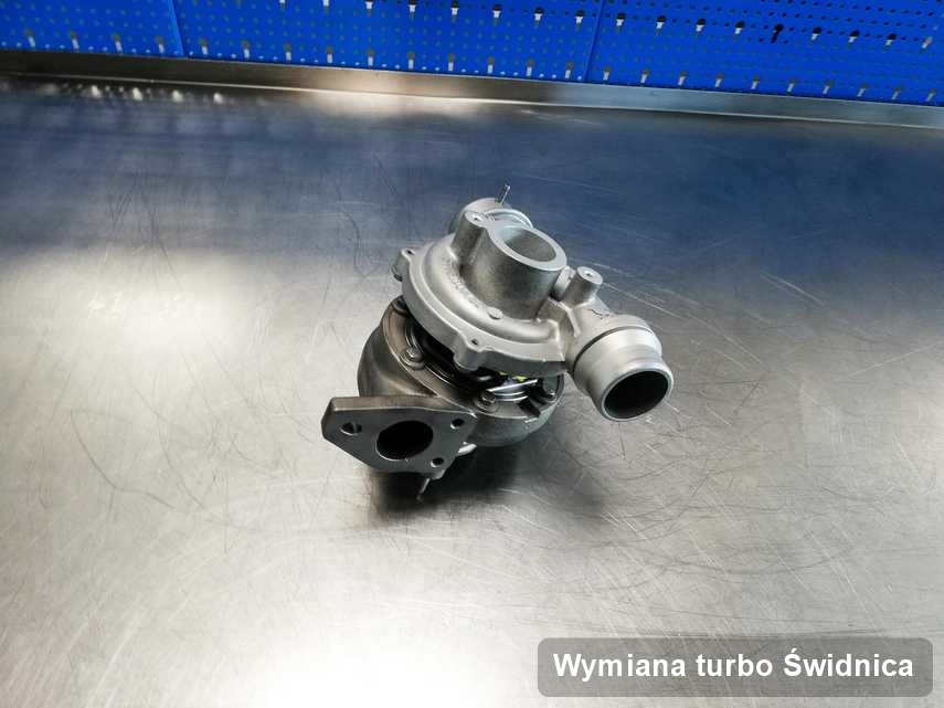 Turbina po zrealizowaniu usługi Wymiana turbo w pracowni regeneracji w Świdnicy w doskonałej jakości przed spakowaniem