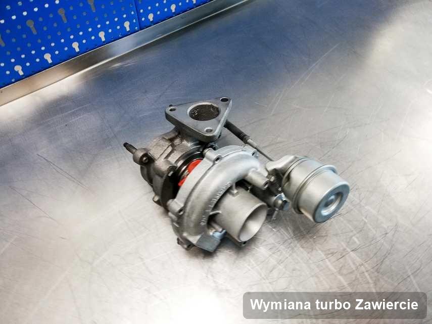 Turbo po wykonaniu usługi Wymiana turbo w pracowni z Zawiercia z przywróconymi osiągami przed spakowaniem