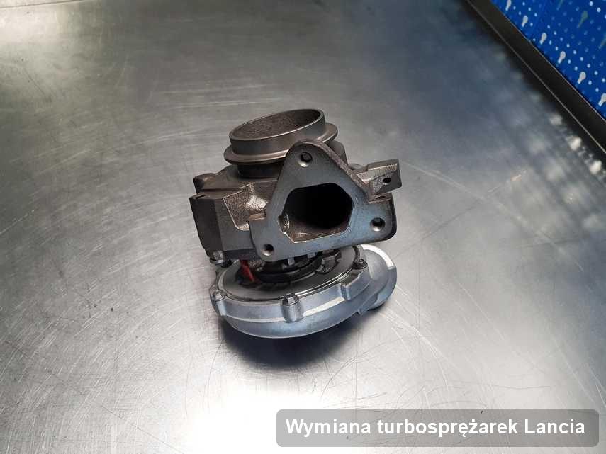 Turbina do diesla firmy Lancia po remoncie w przedsiębiorstwie gdzie realizuje się serwis Wymiana turbosprężarek