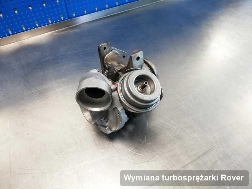 Turbina do auta osobowego marki Rover naprawiona w warsztacie gdzie zleca się serwis Wymiana turbosprężarki