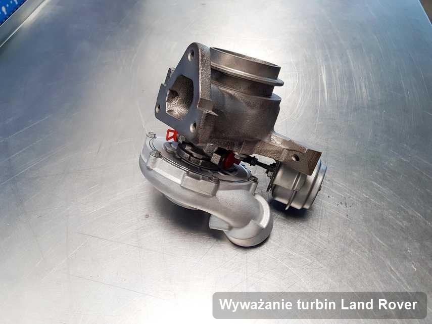 Turbosprężarka do osobówki producenta Land Rover po naprawie w przedsiębiorstwie gdzie realizuje się usługę Wyważanie turbin