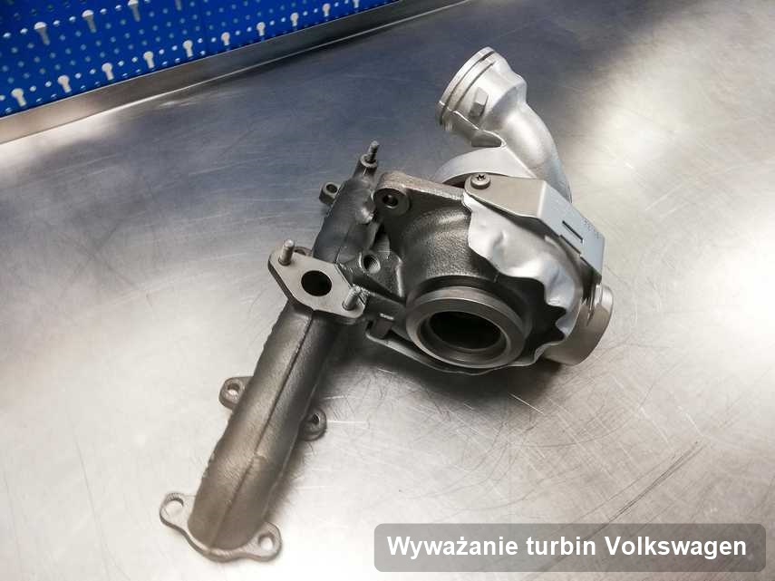 Turbina do diesla producenta Volkswagen wyremontowana w laboratorium gdzie realizuje się serwis Wyważanie turbin