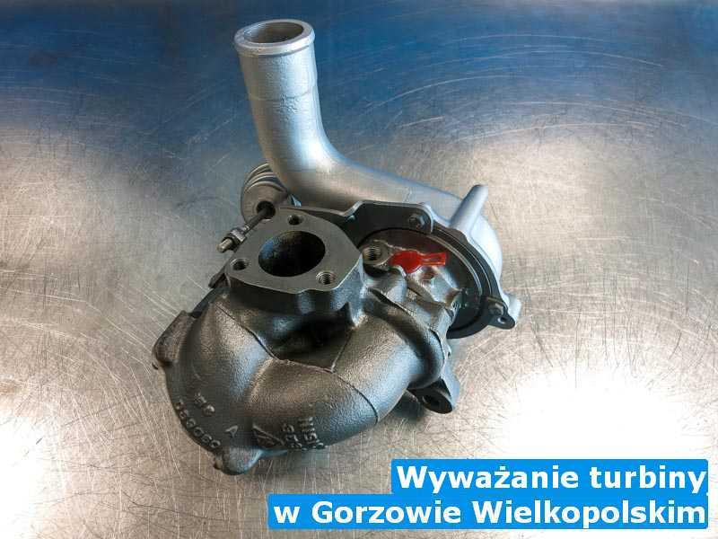 Turbiny po przywróceniu osiągów z Gorzowa Wielkopolskiego - Wyważanie turbiny, Gorzowie Wielkopolskim