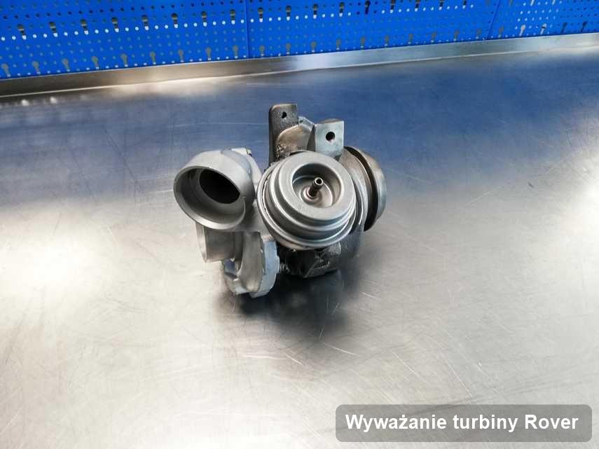 Turbosprężarka do auta firmy Rover wyremontowana w firmie gdzie zleca się serwis Wyważanie turbiny