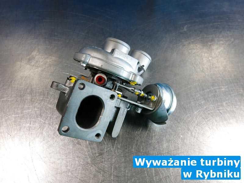 Turbosprężarki zrobione pod Rybnikiem - Wyważanie turbiny, Rybniku