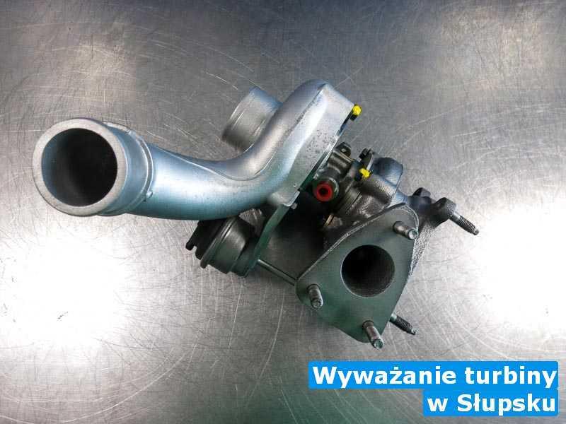 Turbosprężarki po sprawdzeniu pod Słupskiem - Wyważanie turbiny, Słupsku