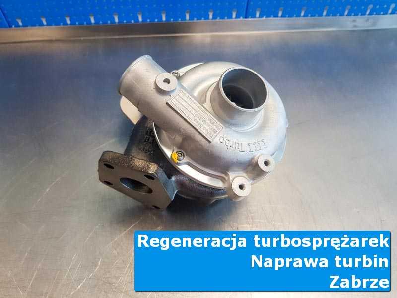 Układ turbodoładowania po serwisie w autoryzowanym serwisie z Zabrza