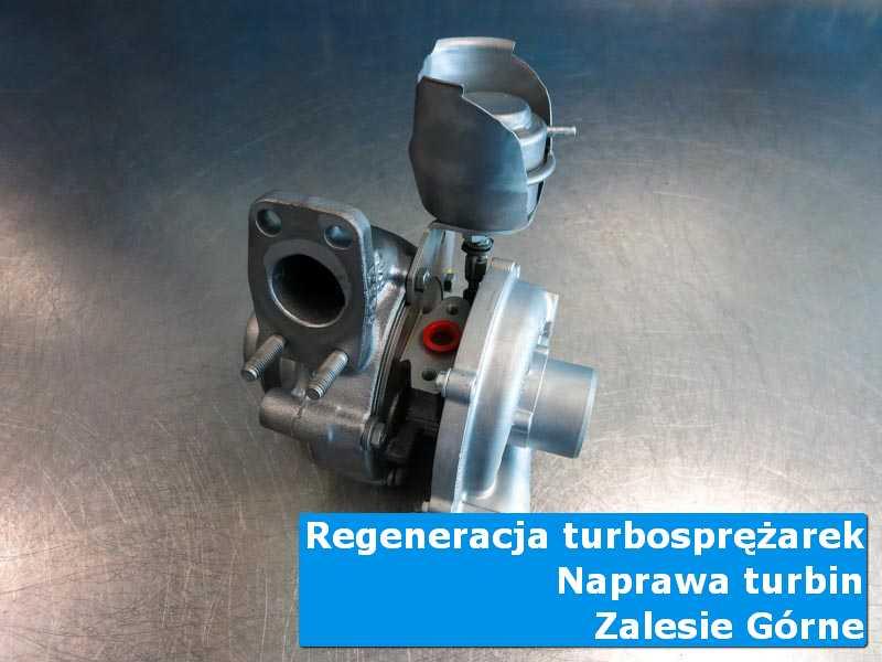 Układ turbodoładowania po czyszczeniu w autoryzowanej pracowni w Zalesiu Górnym