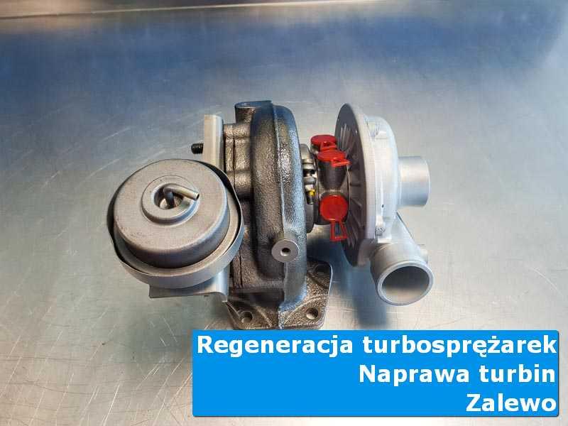 Układ turbodoładowania po regeneracji w autoryzowanej pracowni w Zalewie