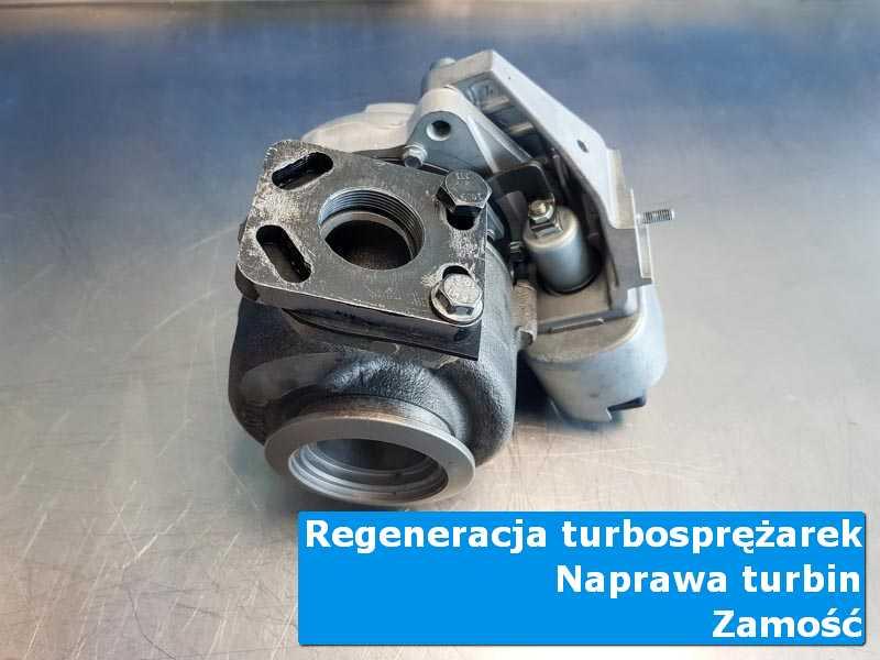 Układ turbodoładowania po czyszczeniu w autoryzowanym serwisie z Zamościa