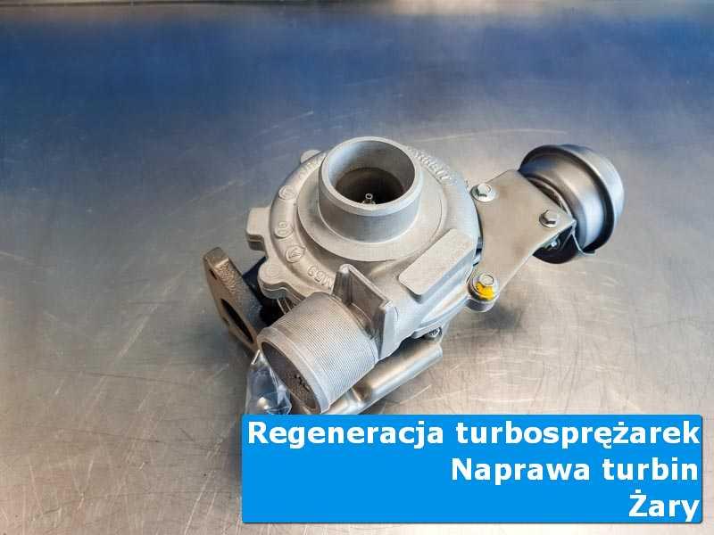 Układ turbodoładowania po czyszczeniu w warsztacie z Żar