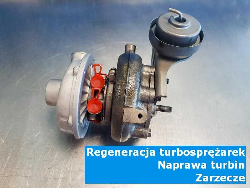 Układ turbodoładowania po przygotowaniu w laboratorium z Zarzecza