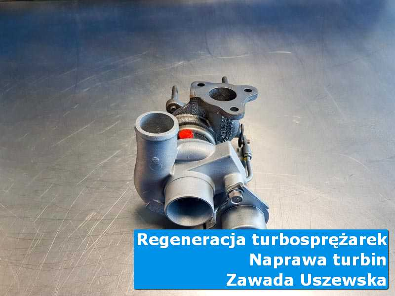 Układ turbodoładowania po przywróceniu sprawności w nowoczesnej pracowni w Zawadzie Uszewskiej