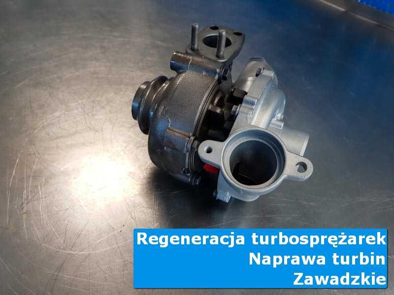 Układ turbodoładowania przed oddaniem do klienta w warsztacie z Zawadzkiego