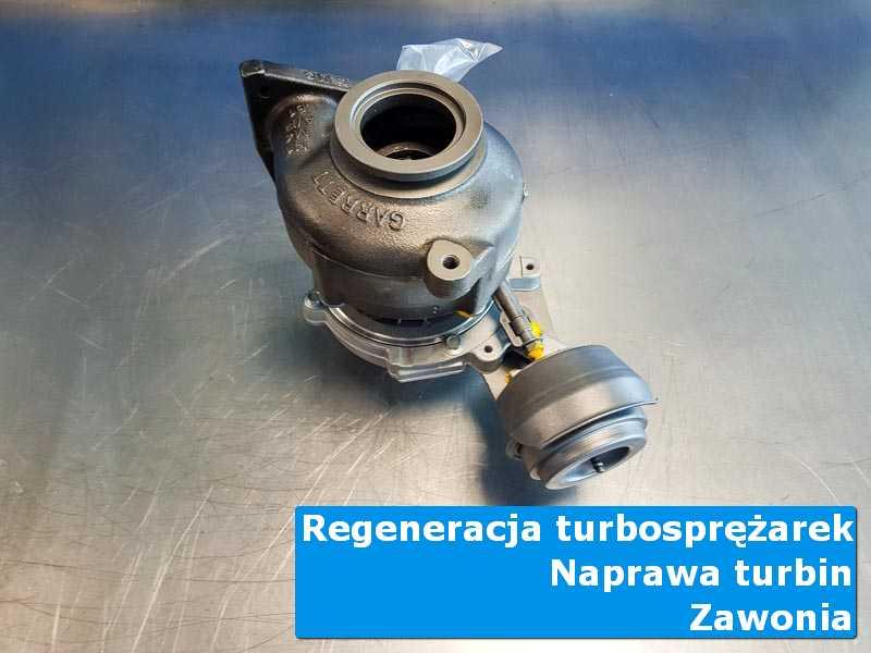 Układ turbodoładowania po przygotowaniu w nowoczesnej pracowni z Zawoni