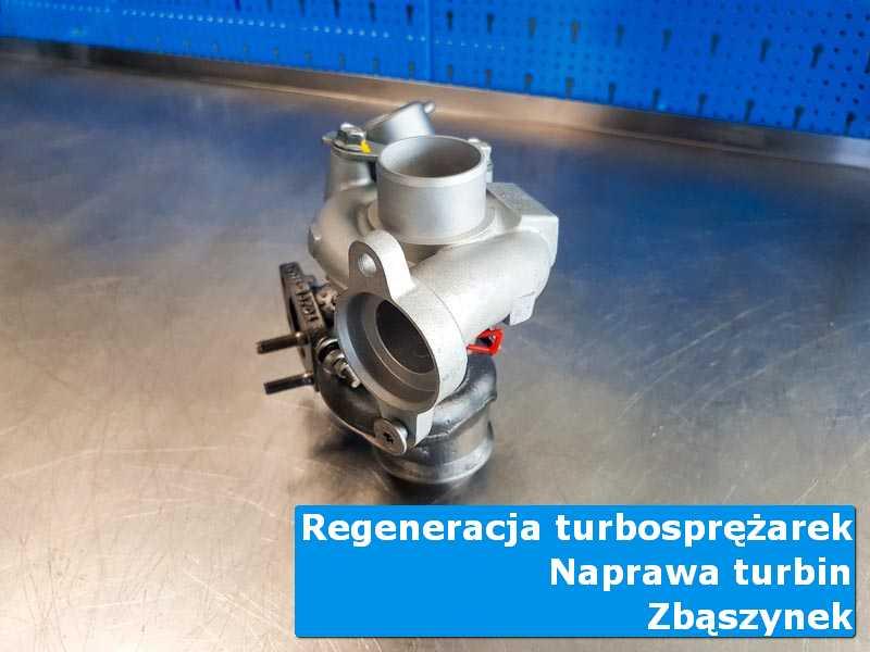 Turbosprężarka przed demontażem w autoryzowanej pracowni w Zbąszynku