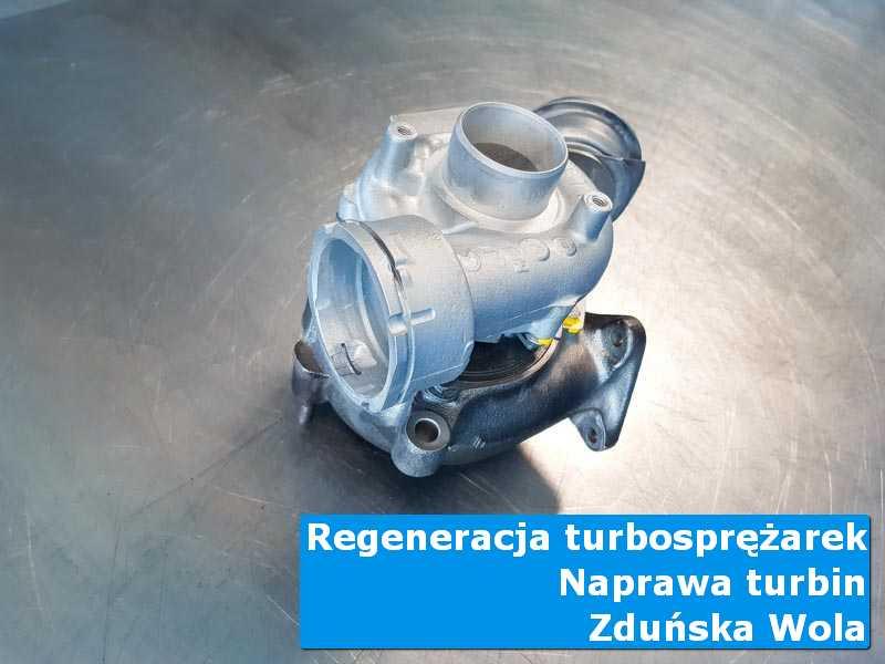 Układ turbodoładowania po przygotowaniu w autoryzowanym serwisie w Zduńskiej Woli