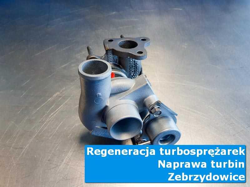 Układ turbodoładowania po wyważaniu w nowoczesnej pracowni z Zebrzydowic