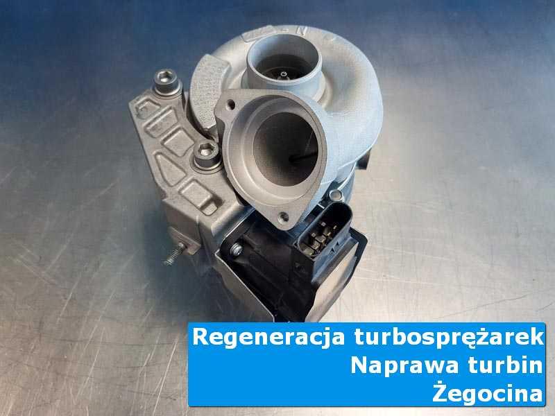 Turbosprężarka po przygotowaniu w warsztacie z Żegociny