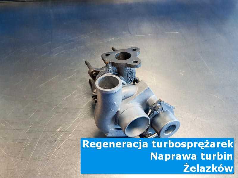 Turbosprężarka przed pakowaniem w pracowni w Żelazkowie