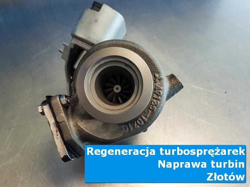 Turbosprężarka przed wymianą u specjalistów z Złotowa
