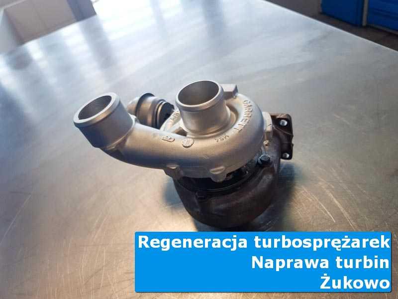 Układ turbodoładowania przed montażem w profesjonalnym serwisie z Żukowa