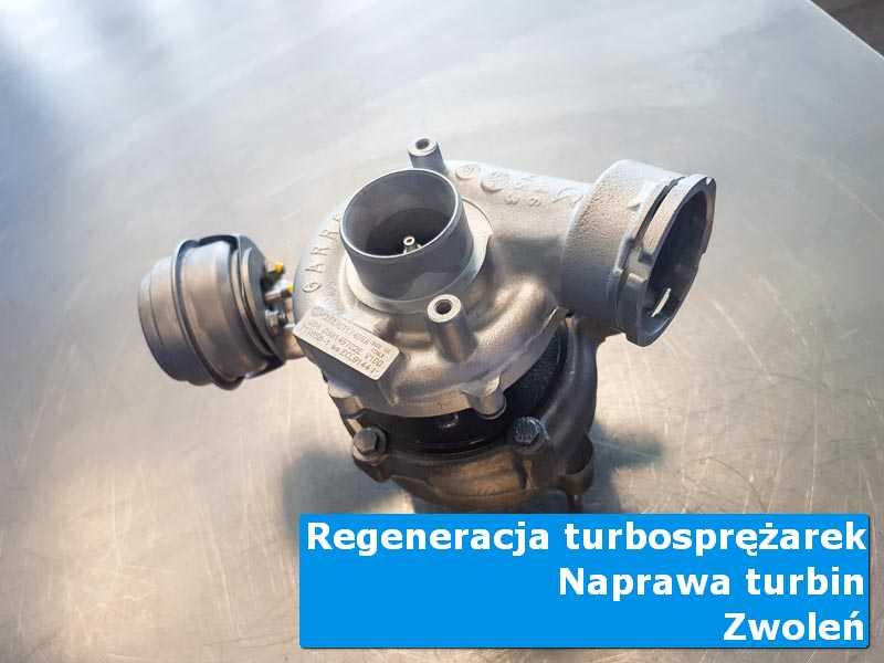 Turbosprężarka po demontażu w specjalistycznej pracowni z Zwolenia